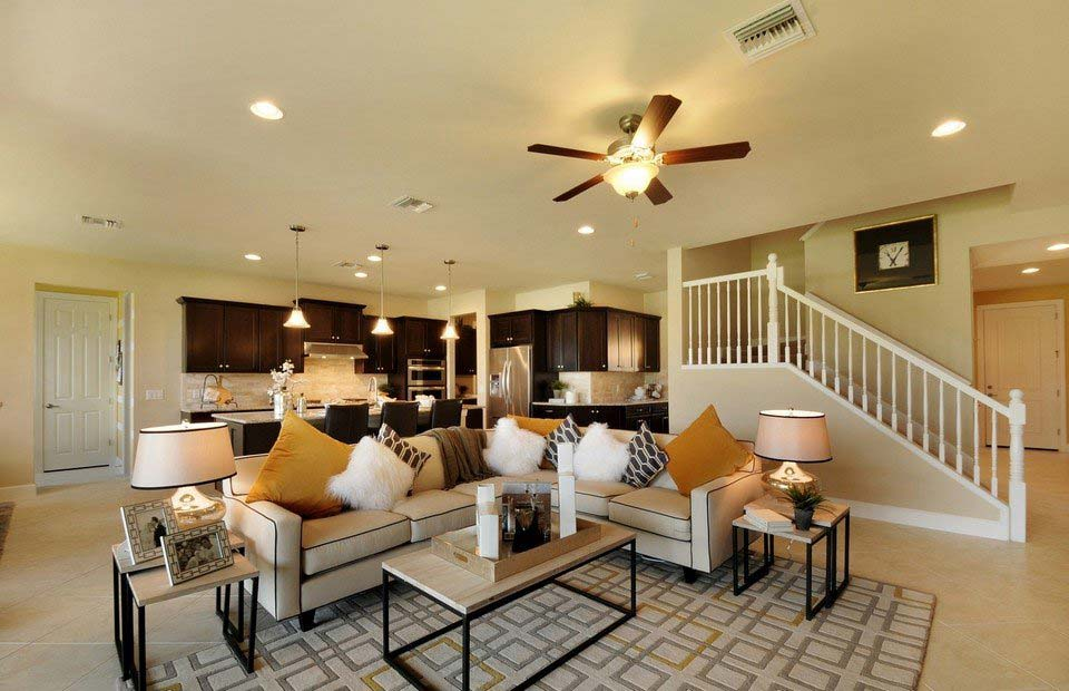 Weatherford Model Home in Corkscrew Shores, Estero, By Pulte