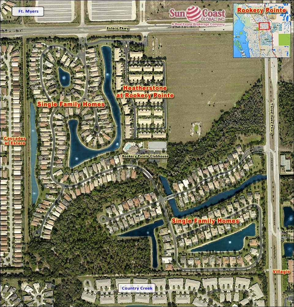 Rookery Pointe Overhead Map