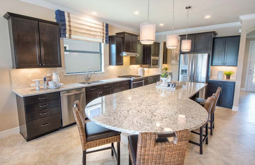 Martin Ray Model Home in Tidewater, Estero by Del Webb