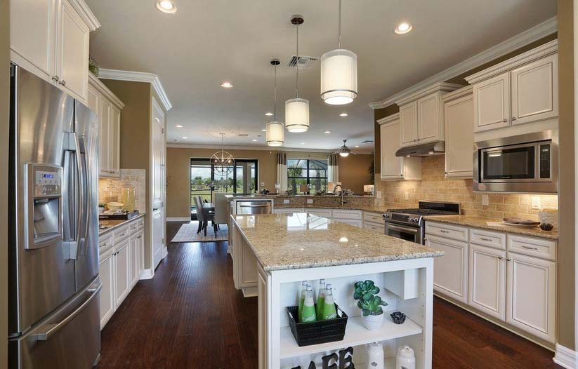 Tangerly Oak Model Home in Tidewater, Estero by Del Webb