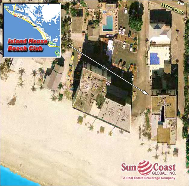 Island House Beach Club Condos Overhead Map