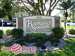 Barkeley Square Community Sign