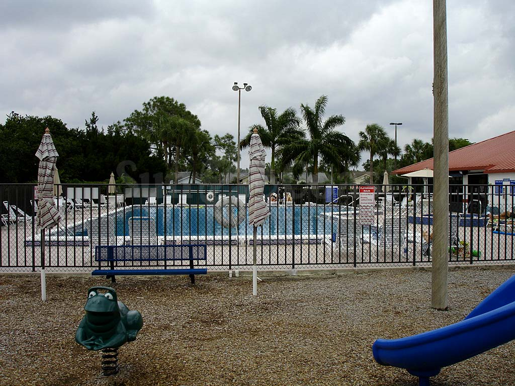 Brookshire Community Pool Safety Fence