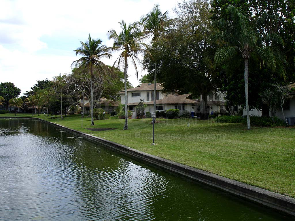 View Down the Canal From Caloosa Bayview