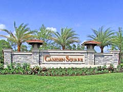 Camden Square Single Family Home Community by Pulte