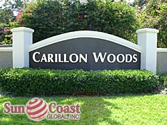 Carillon Woods Community Sign
