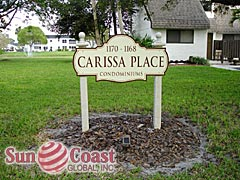Carissa Place Community Sign