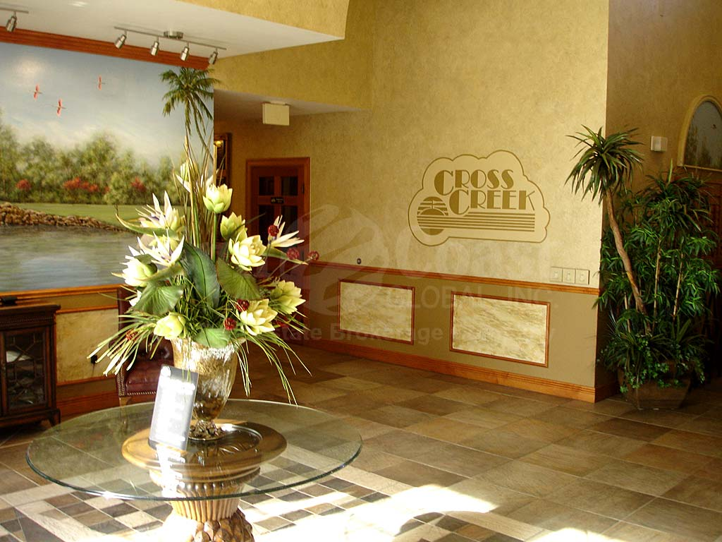 Cross Creek Lobby