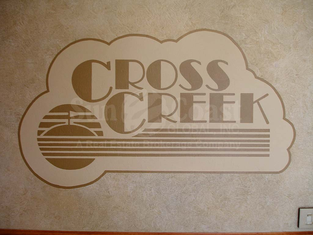 Cross Creek Signage