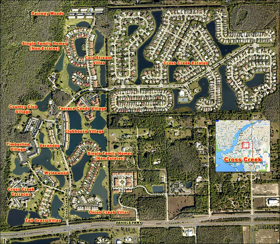 TIMBERLINE VILLAGE At CROSS CREEK Real Estate FORT MYERS