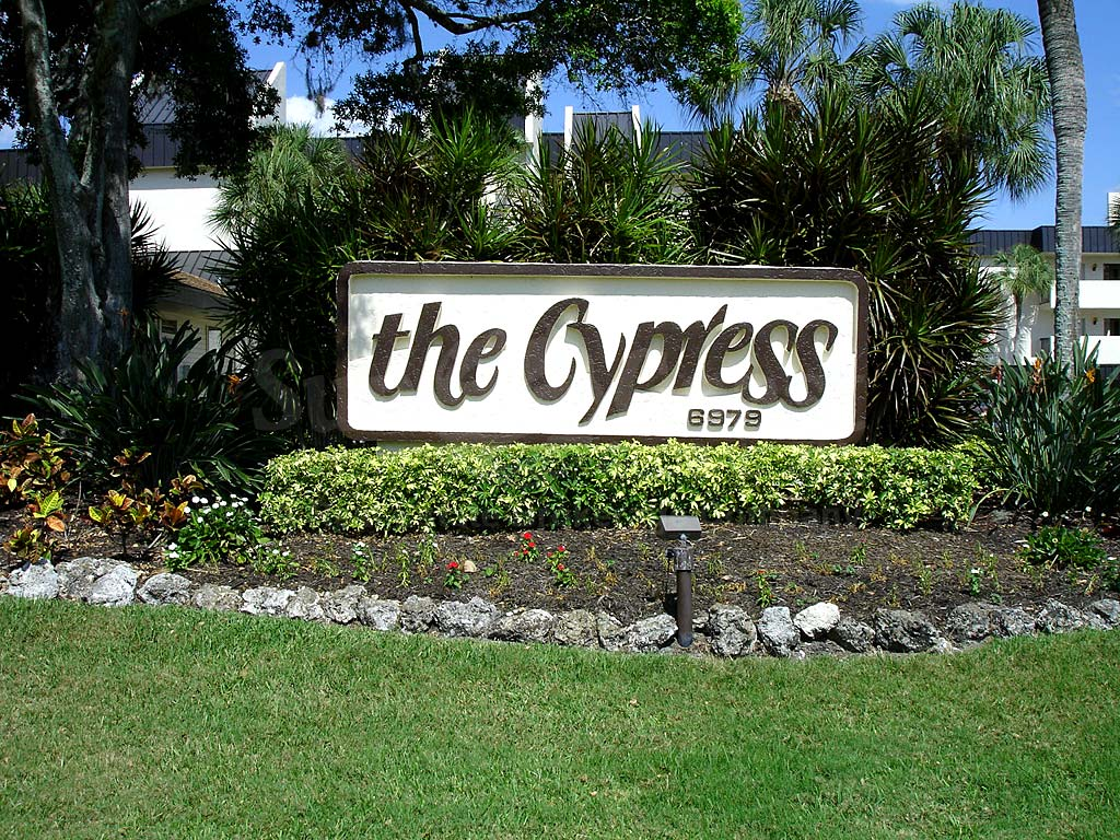 Cypress Waterfront Condos Signage
