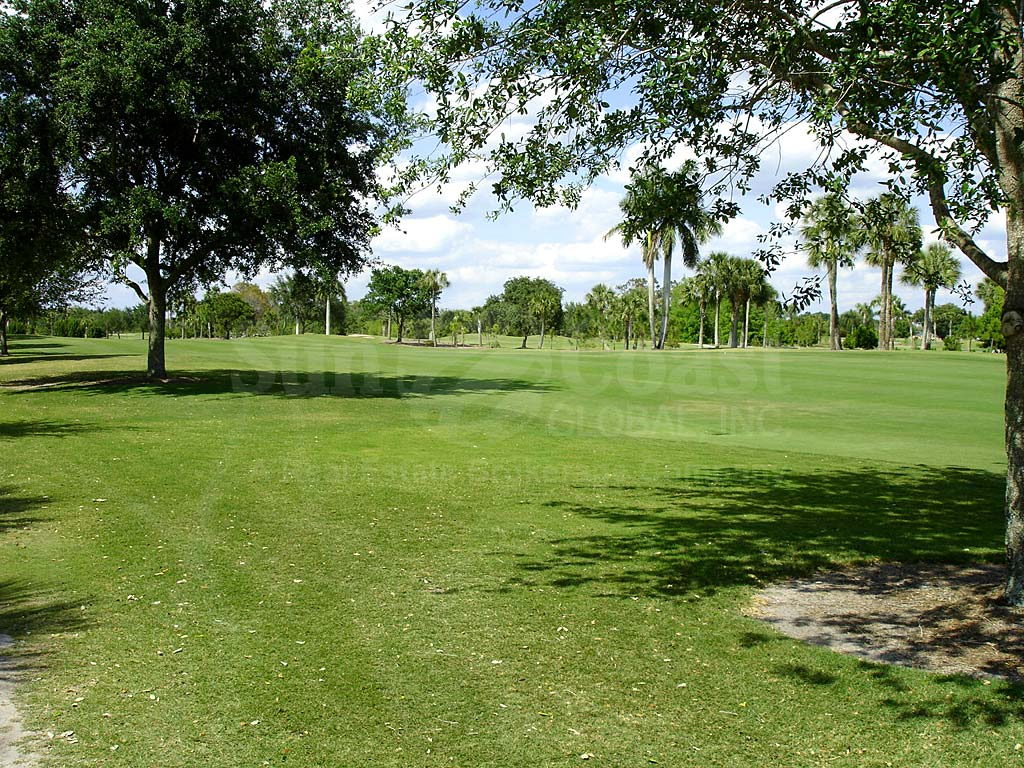 Cypress Waterfront Condos View of Golf Course