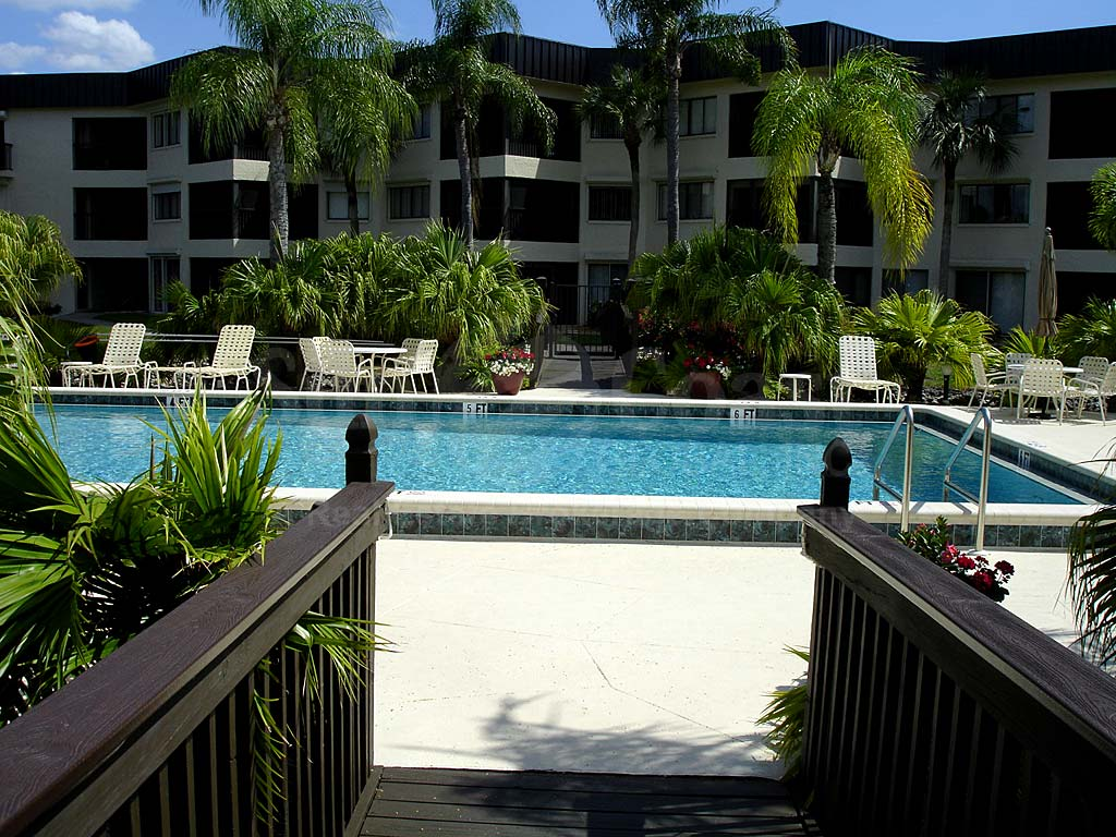 Cypress Waterfront Condos Community Pool