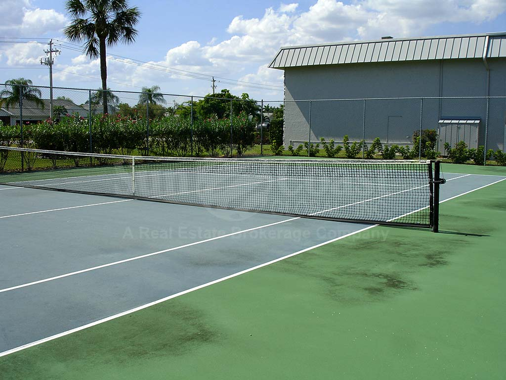 Cypress Waterfront Condos Tennis Courts