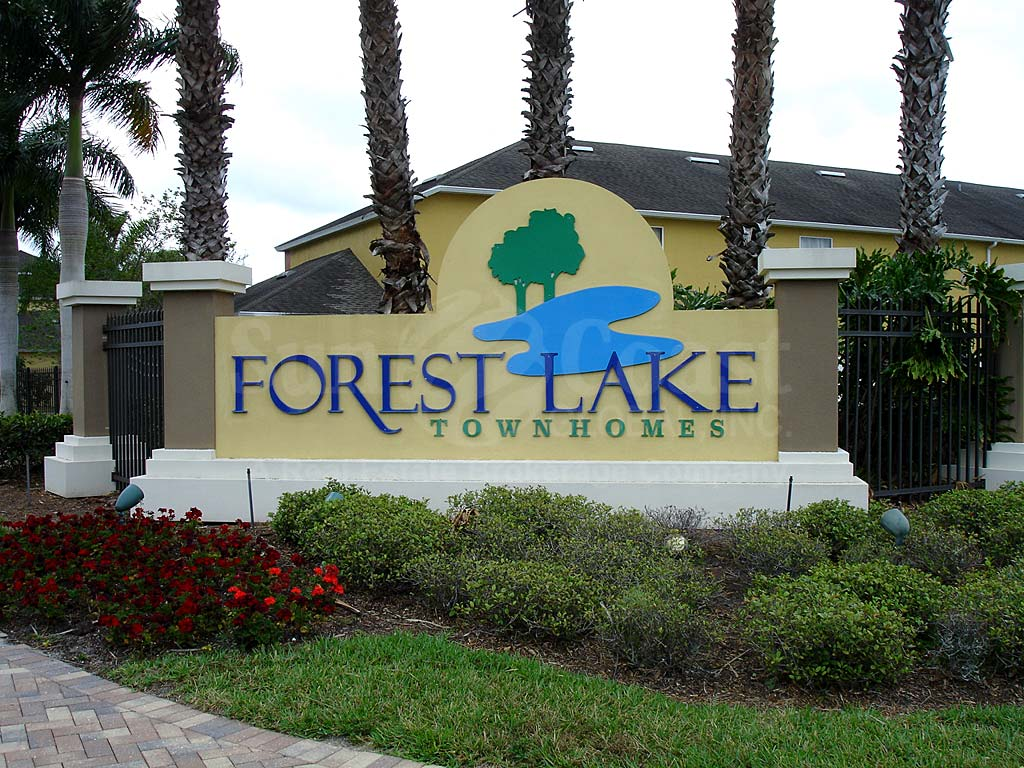 Forest Lake Townhomes Signage