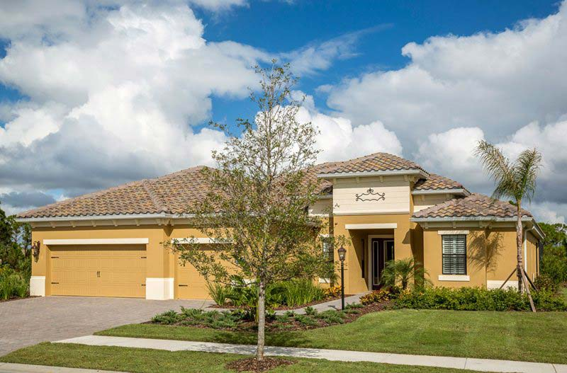 Blue Sky 2 Model Home in Coastal Key, Fort Myers by Neal Communities