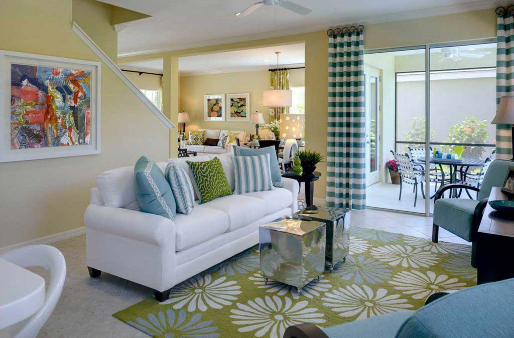 Sunrise Model Home in Coastal Key, Fort Myers by Neal Communities