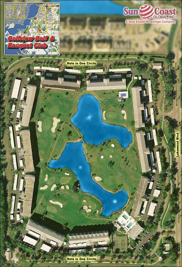 Golfview Overhead Map