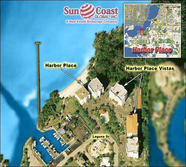 Harbor Place Overhead Map