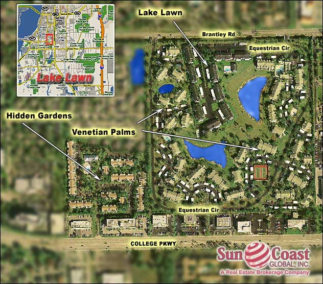Lake Lawn Overhead Map
