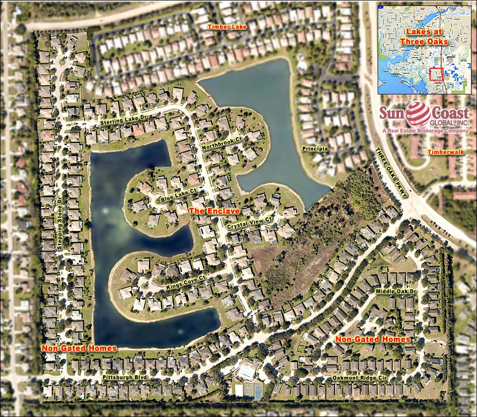 The Enclave At Lakes At Three Oaks Real Estate Fort Myers