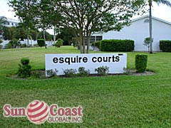 Myerlee Esquire Community Sign