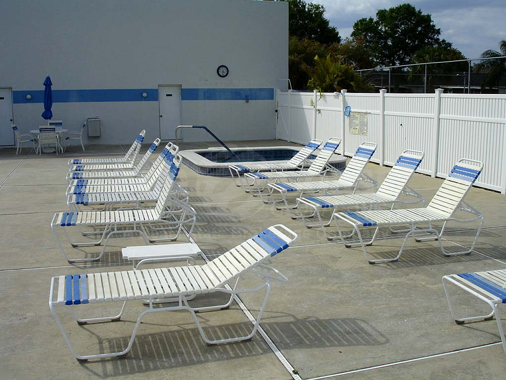 Myerlee Gardens Community Pool and Sun Deck Furnishings