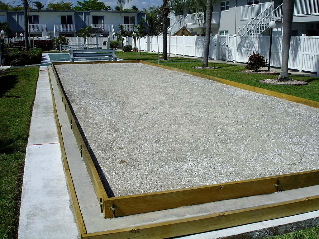 Regency Condos Bocce Ball Courts