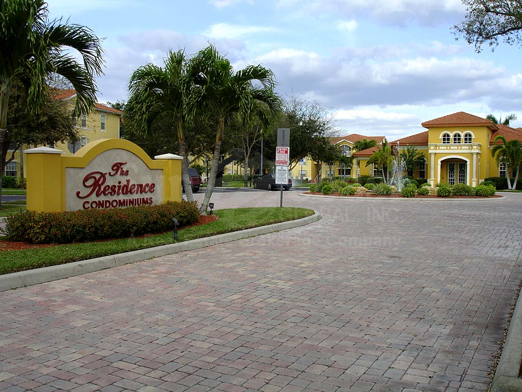 Residence Condominiums Entrance