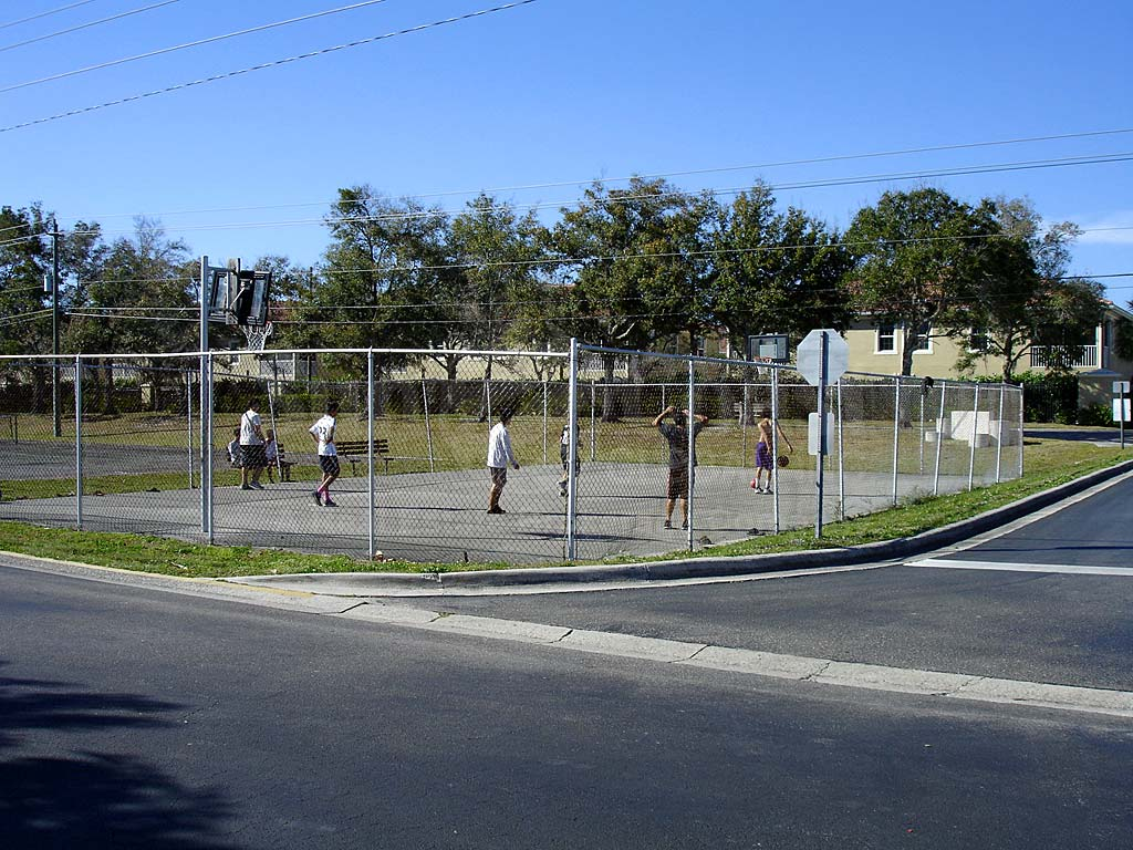 Riverwalk Basketball Courts