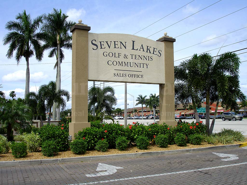 Seven Lakes Signage