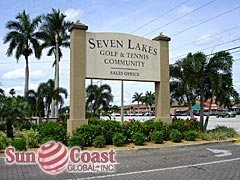 Seven Lakes Community Sign