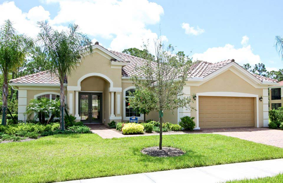 Barrington Model Home in Somerset at The Plantation, Fort Myers by Pulte
