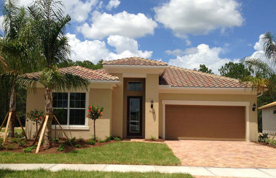 Bellington II Model Home in Somerset at The Plantation, Fort Myers by Pulte