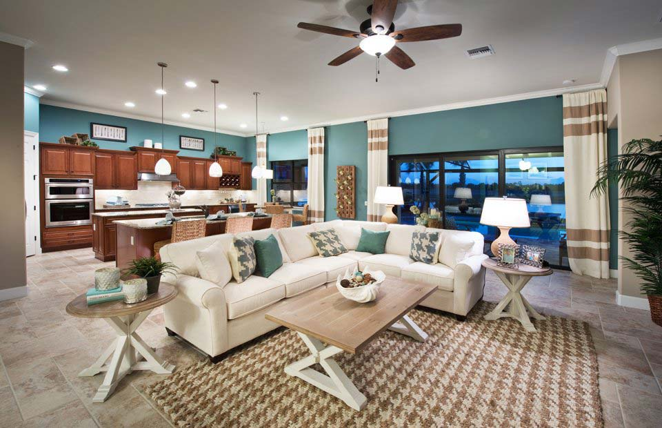 Cameron Model Home in Somerset at The Plantation, Fort Myers by Pulte