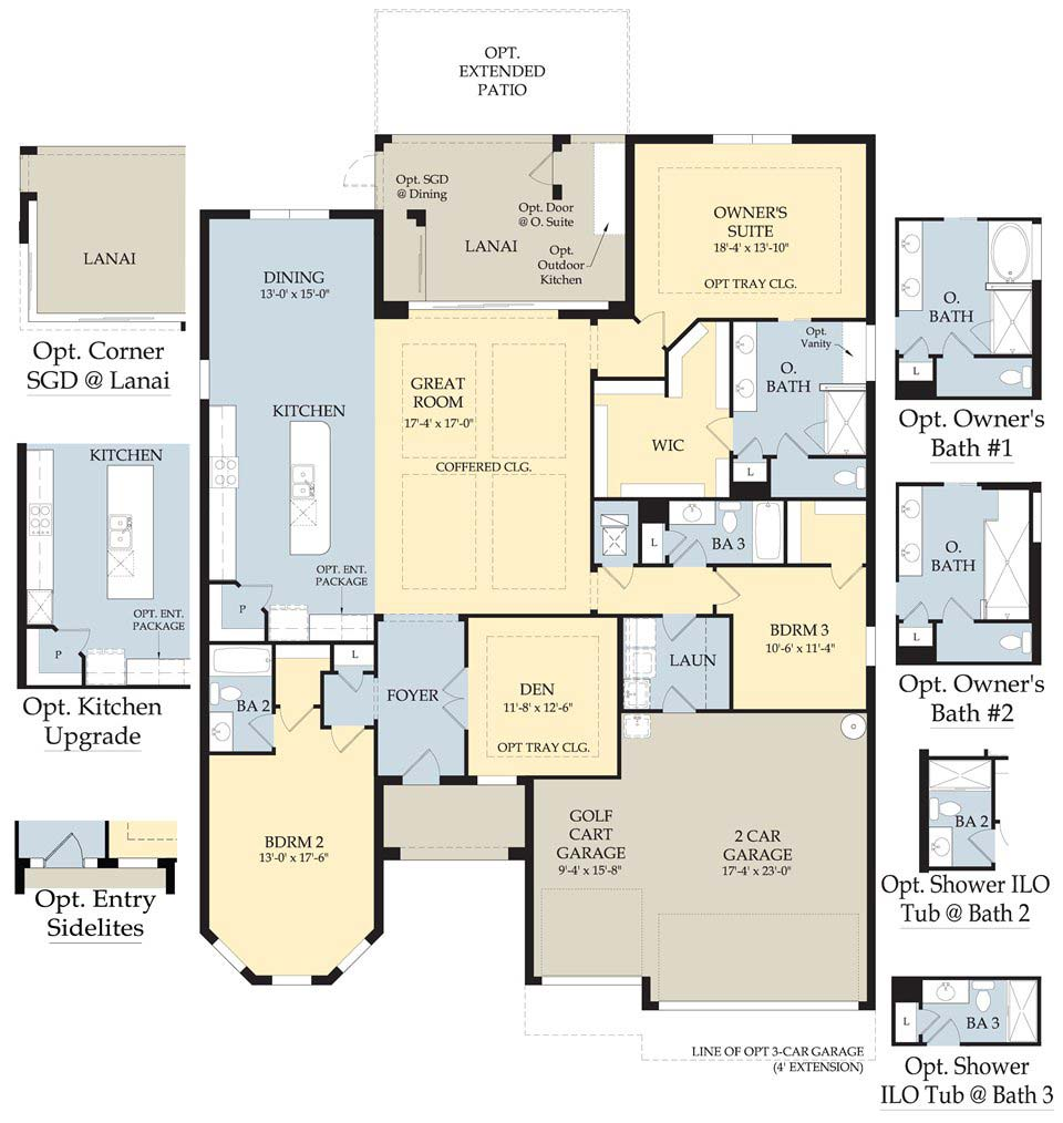 Dartmouth II Floor Plan in Somerset at The Plantation, Fort Myers by Pulte