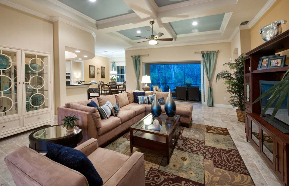 Jamison II Model Home in Somerset at The Plantation, Fort Myers by Pulte