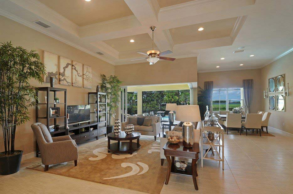 Windsor II Model Home in Somerset at The Plantation, Fort Myers by Pulte