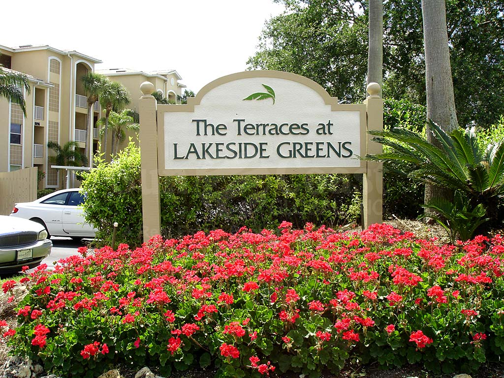 Terraces At Lakeside Greens South Signage