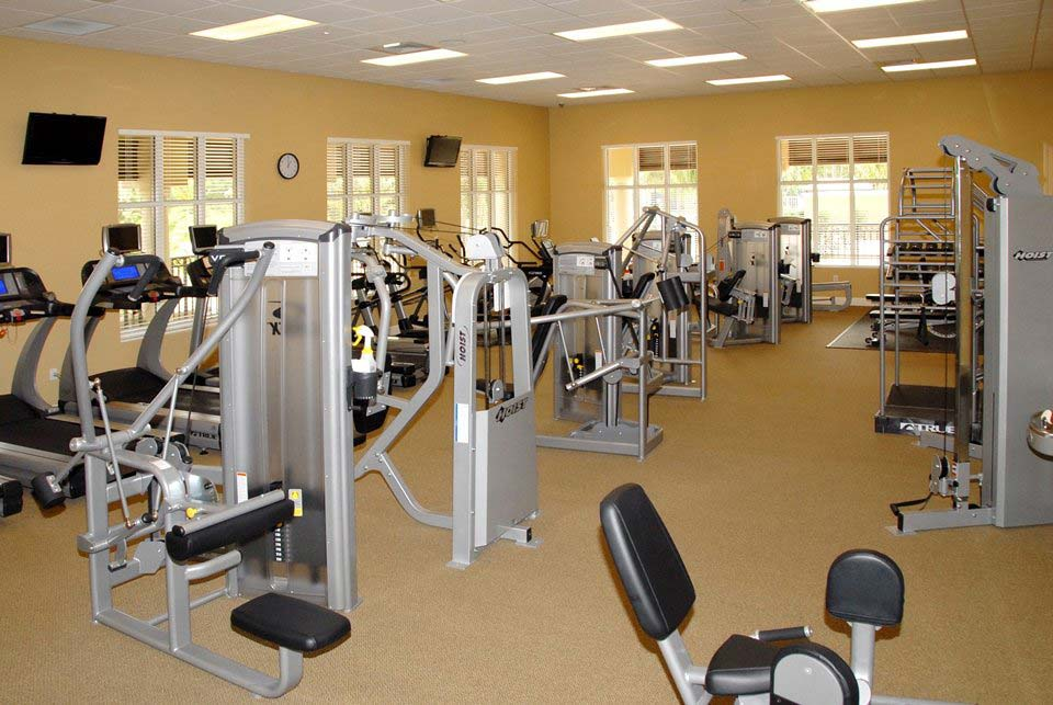 Somerset At The Plantation Fitness Facilities