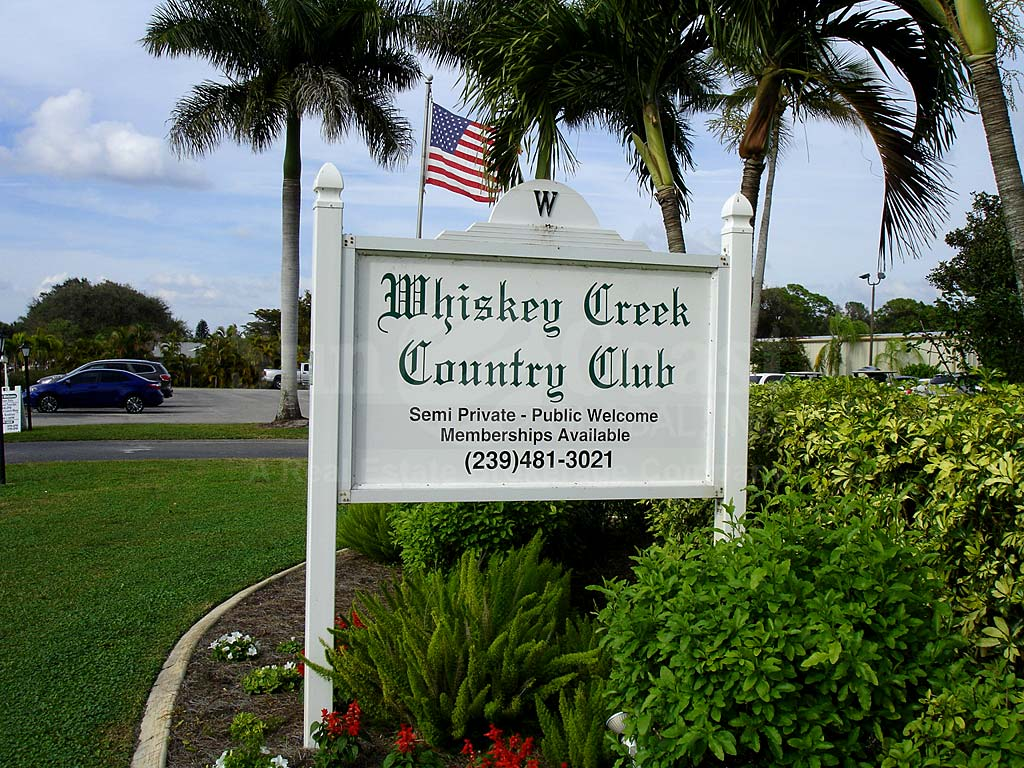 Whiskey Creek Signage