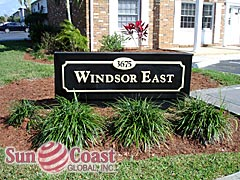 Windsor East Community Sign