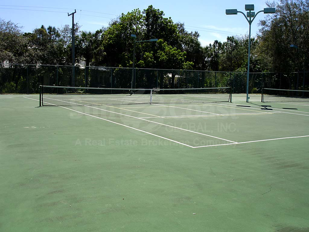 Wyldewood Lakes Tennis Courts
