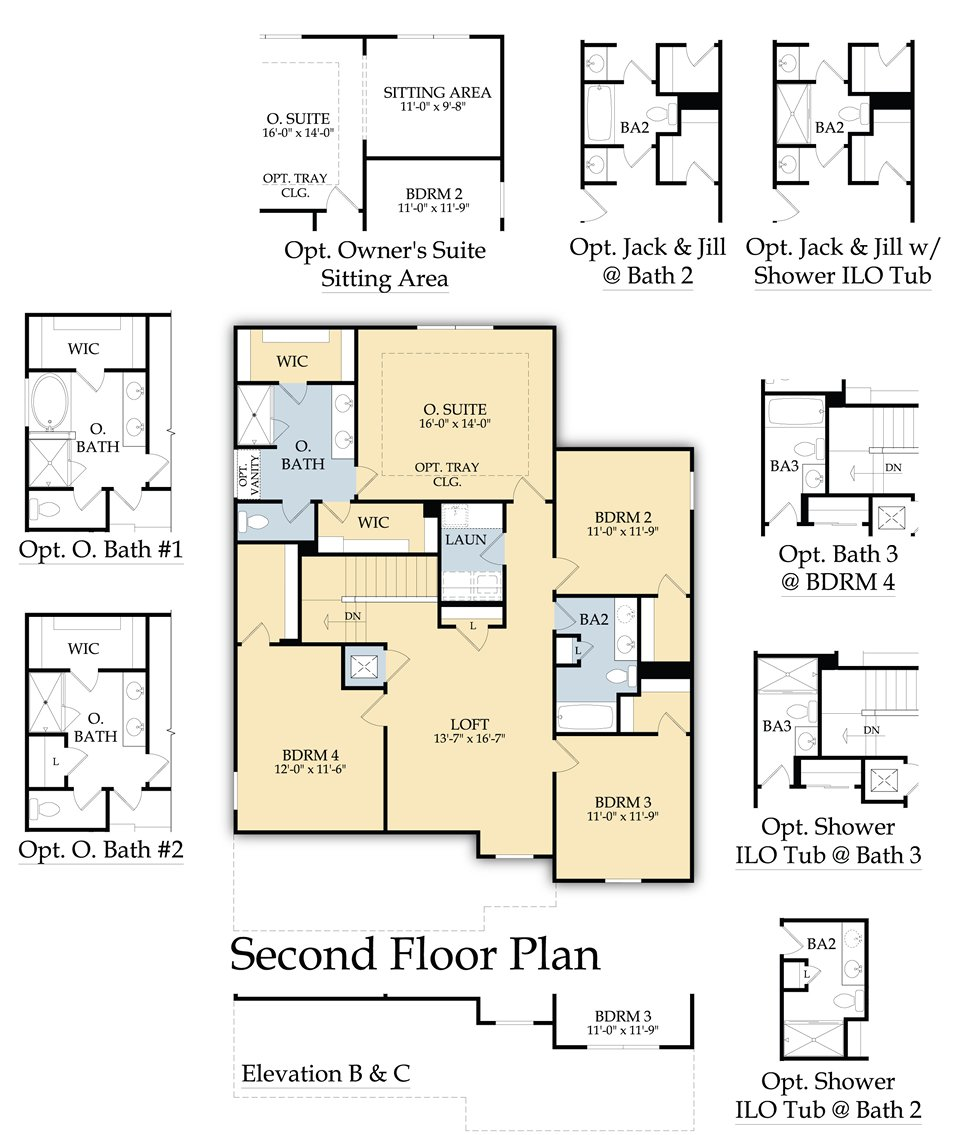 100 The Castle Rock Floor Plan Home For Sale 981