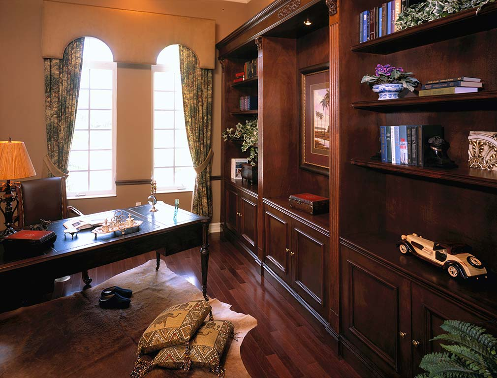 Model home furnishings bend or