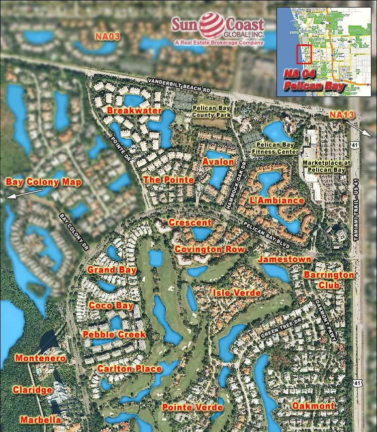 LUGANO at PELICAN BAY Real Estate NAPLES Florida Fla Fl