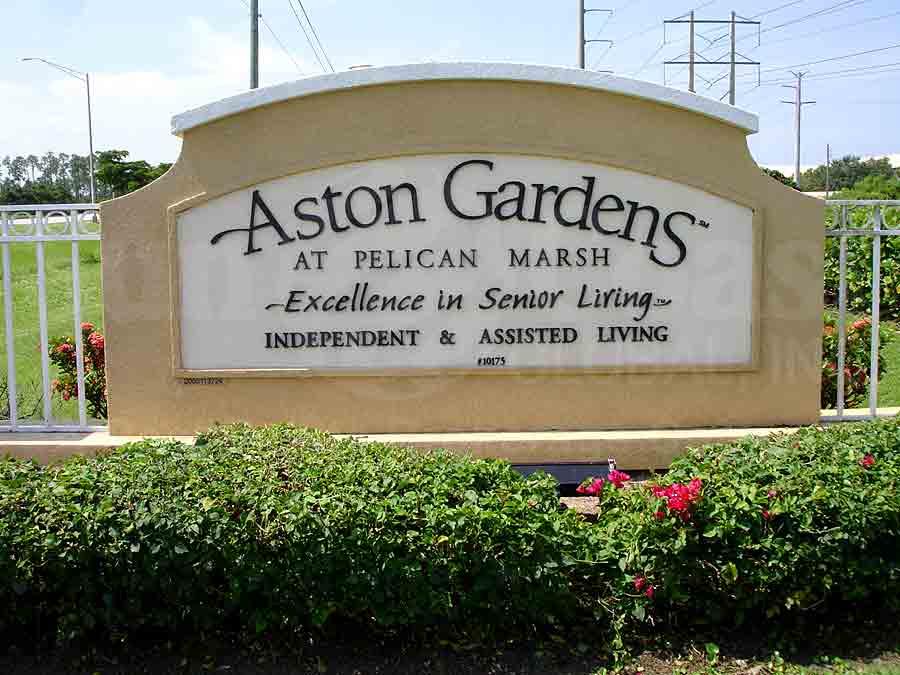 ASTON GARDENS Signage
