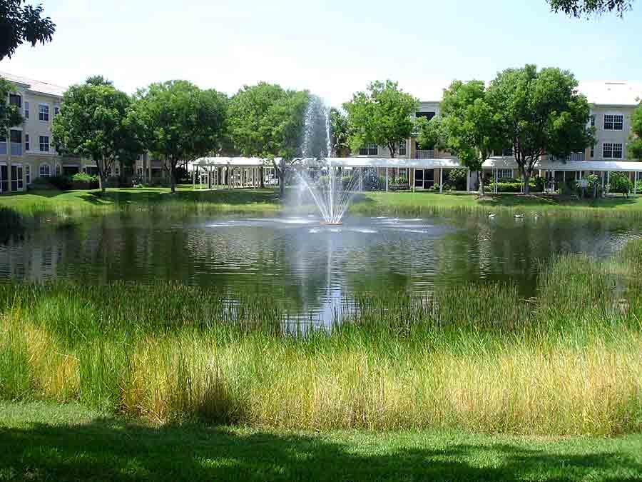 ASTON GARDENS Fountain