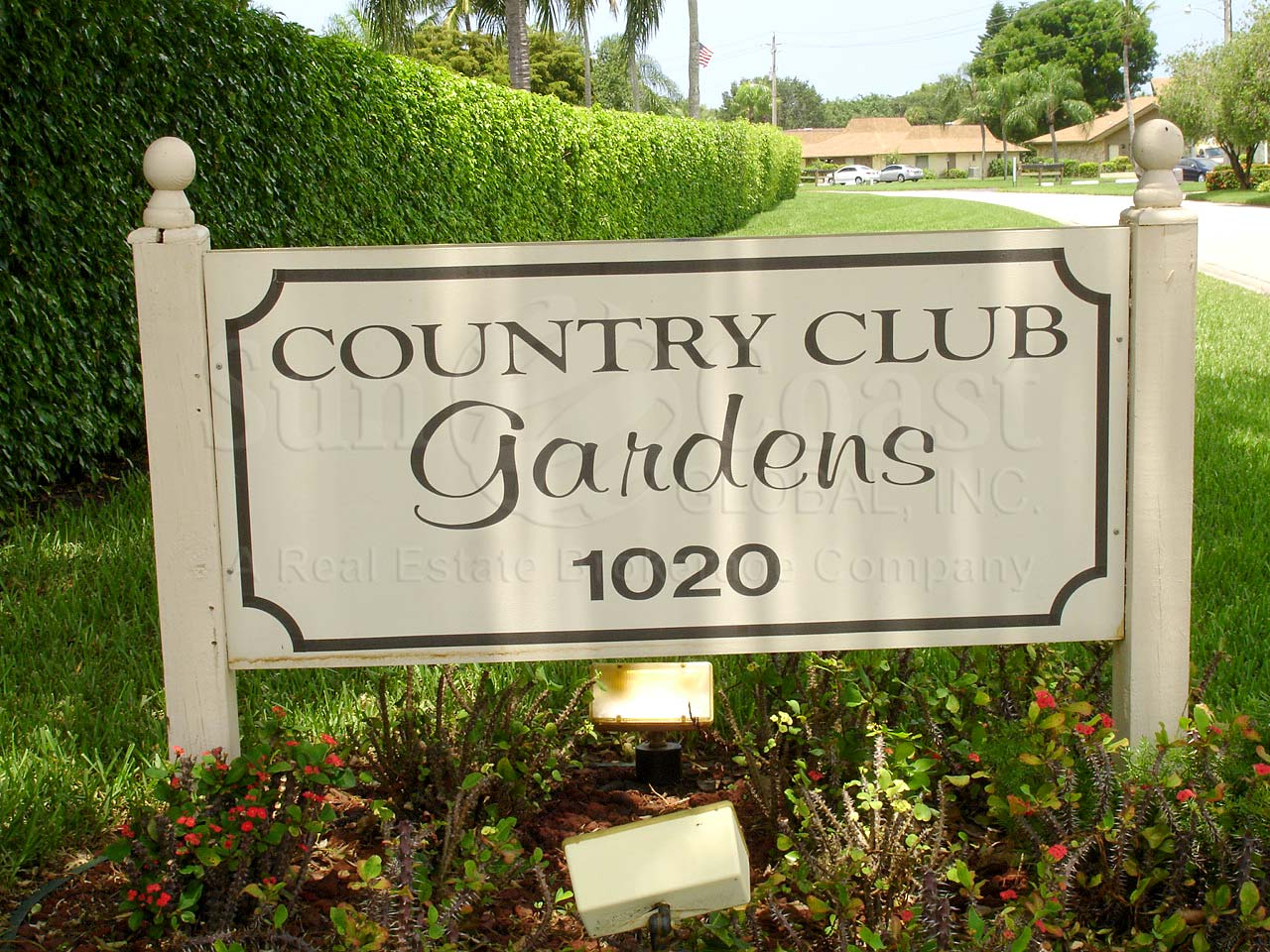 Country Club Gardens Signage