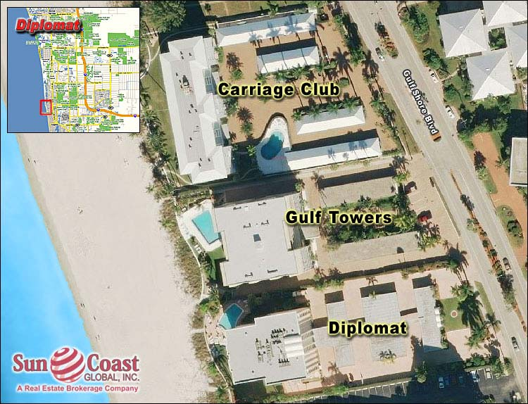 DIPLOMAT CLUB at MOORINGS Real Estate NAPLES Florida Fla Fl